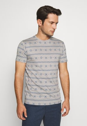CANNES - T-shirt print - grey