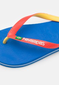 Havaianas - BRASIL MIX UNISEX - T-bar sandals - blue star/white/blue - 5