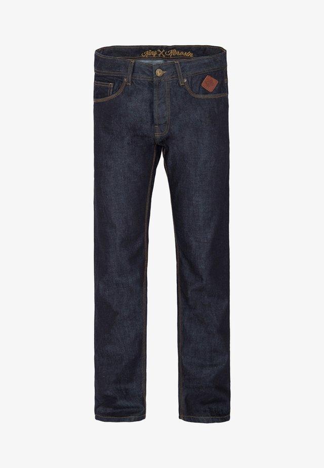 ROBIN - Straight leg jeans - darkblue