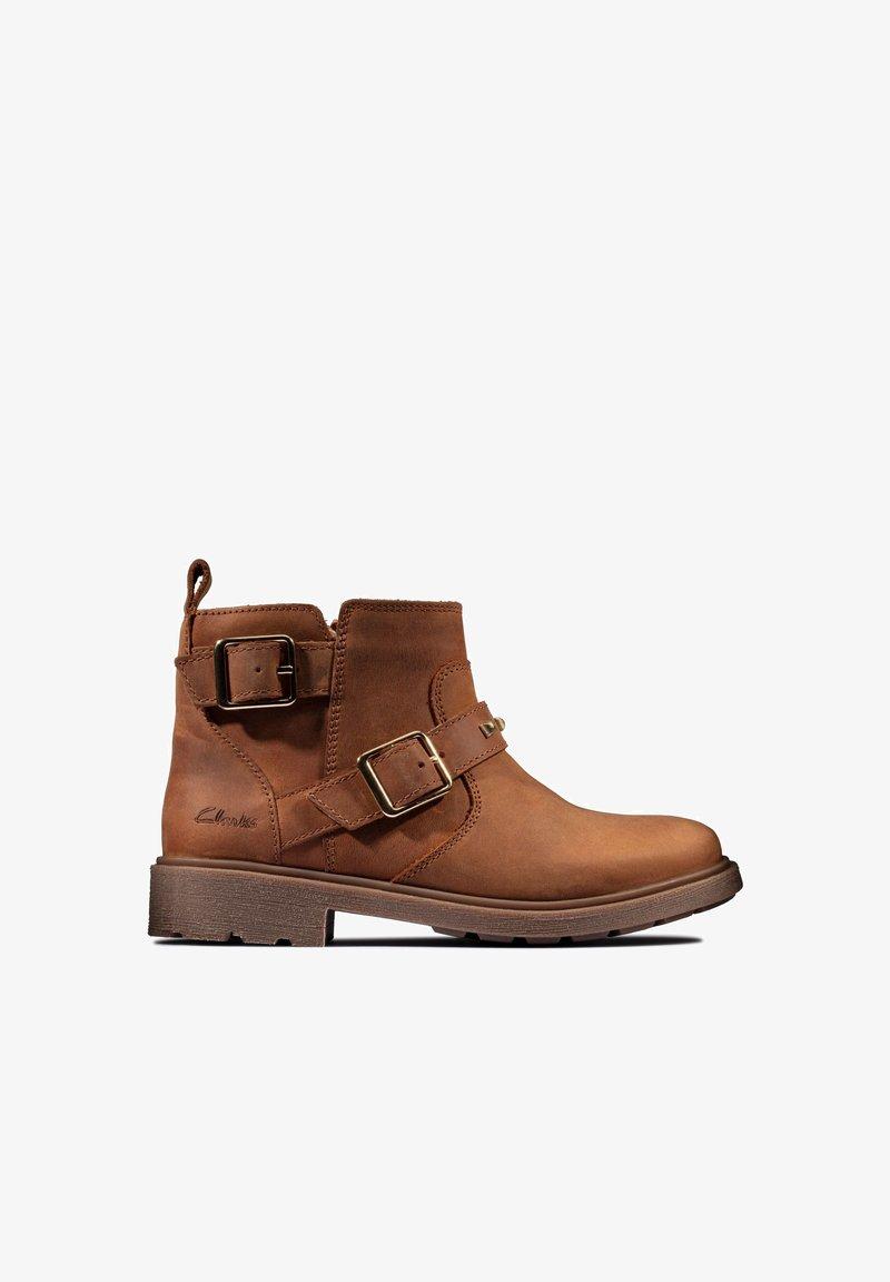 Clarks - Classic ankle boots - cognac