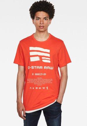 GRAPHIC LOGO - T-shirt print - bright acid