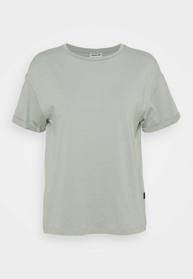 NMBRANDY - Jednoduché triko - slate gray
