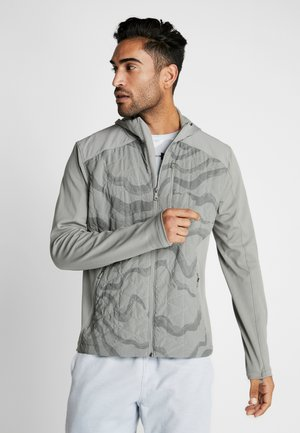 REACTOR HYBRID LITE - Training jacket - gravity green/surface gray