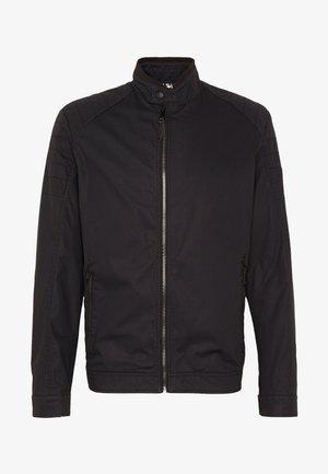 ROVIGO STAND UP  COLLAR - Summer jacket - black