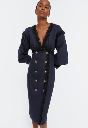 Shift dress - dark blue