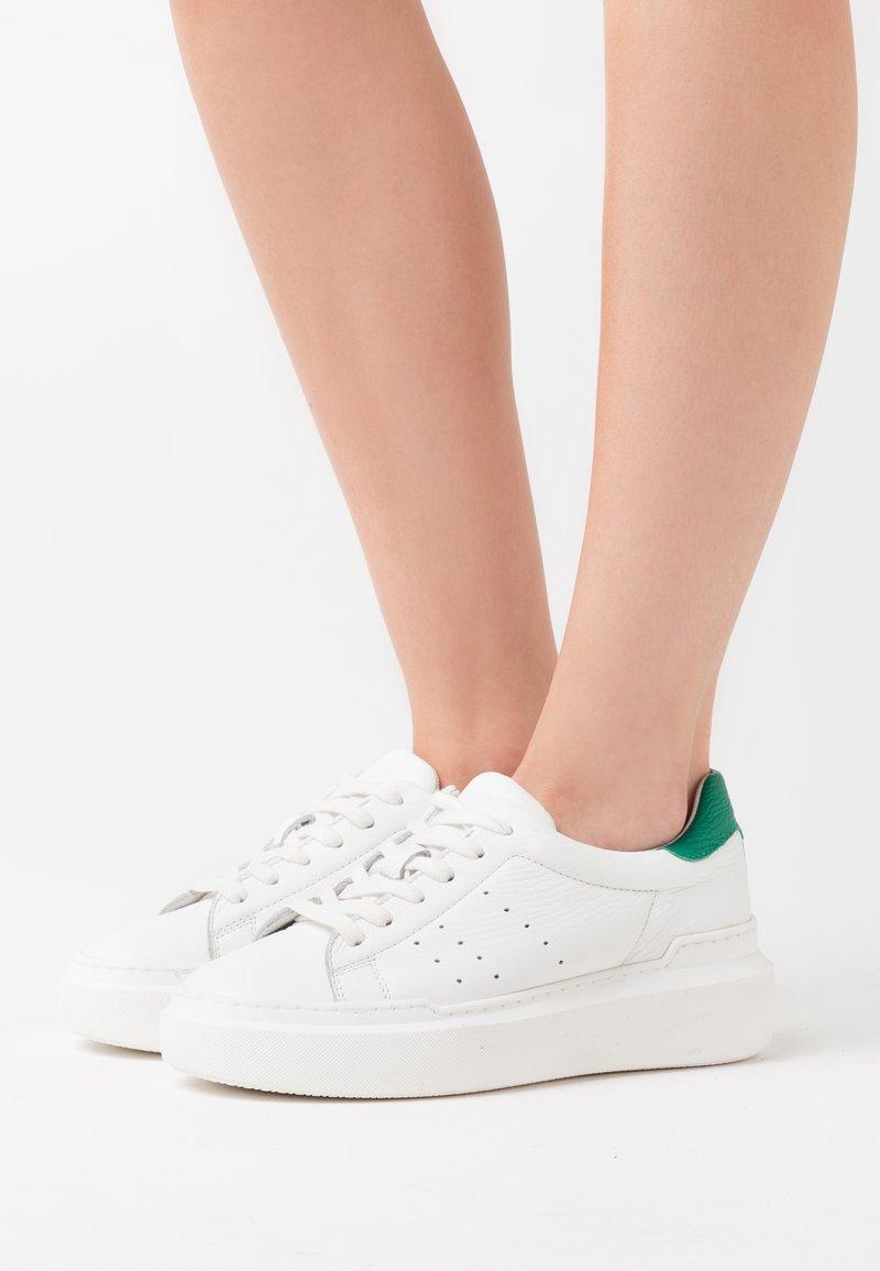 Zign - Joggesko - white/green