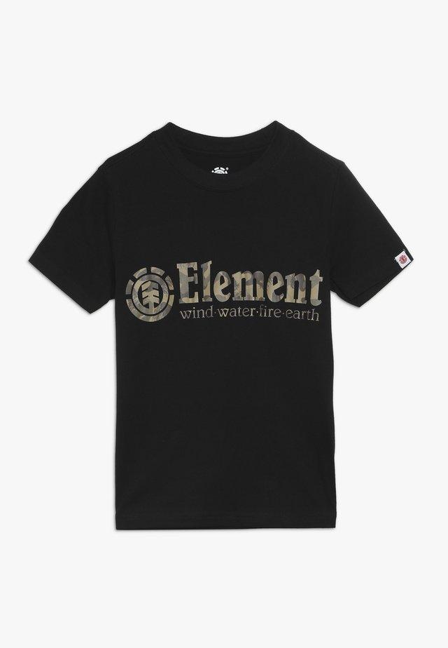 SCOPE BOY - T-shirt z nadrukiem - flint black