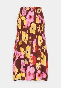 YAS - YASPHANNI SMOCK SKIRT - A-line skirt - madder brown - 1
