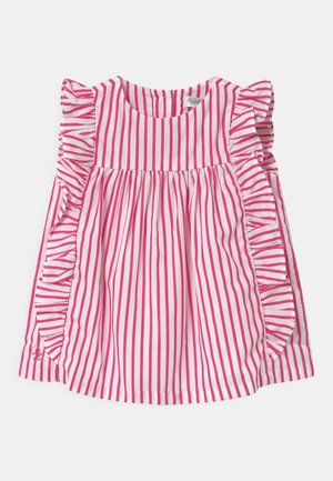 STRIPE SET - Robe chemise - pink/white