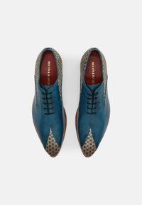 Melvin & Hamilton - TONI 31 - Šněrovací boty - blue/nude - 3