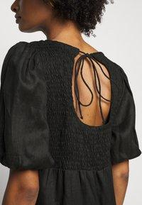 Faithfull the brand - ALBERTE DRESS - Denní šaty - plain black - 5