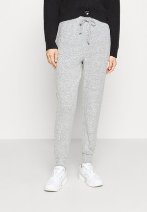 BRUSHED JOGGER - Tracksuit bottoms - grey