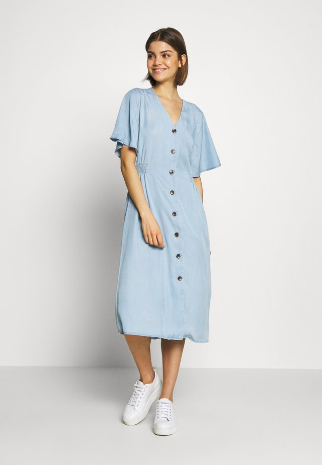 HARIMO DRESS - Robe chemise - chambray blue