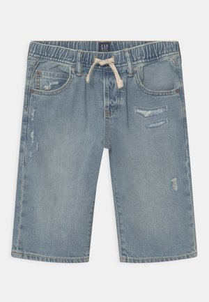 BOY - Szorty jeansowe - light-blue denim