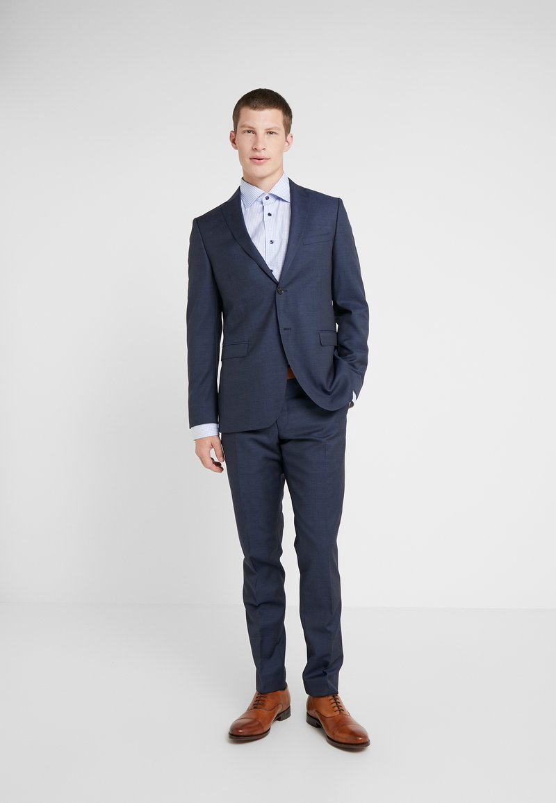 Michael Kors - SLIM FIT SOLID SUIT - Completo - navy