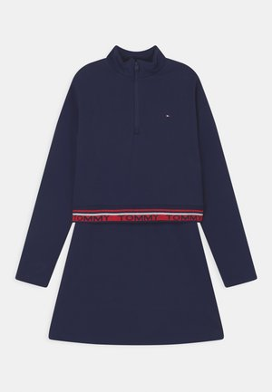 DRESS - Jersey dress - twilight navy
