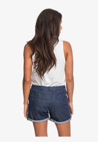 Roxy - MILADY  - Denim shorts - dark indigo - 2