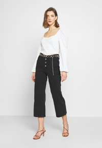 Levi's® - MILE HIGH BUTTONS - Flared Jeans - dust and ash - 1