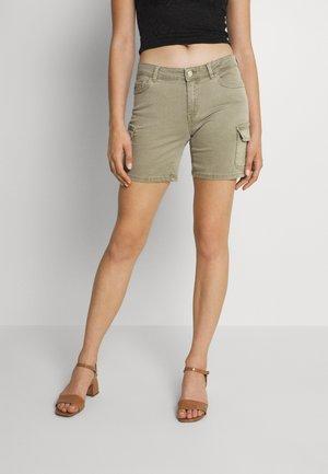 ONLMISSOURI LIFE - Denim shorts - covert green
