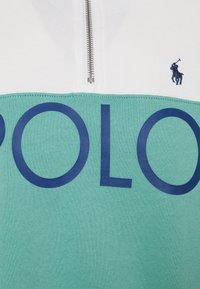 Polo Ralph Lauren - LONG SLEEVE - Mikina - deckwash white/tiki green - 2