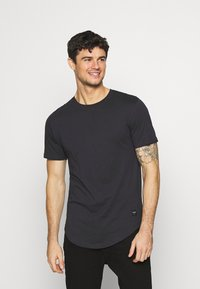 Only & Sons - MATT 7 PACK - T-shirt basic - dark grey melange/dark blue/dark green/beige/dark red - 6