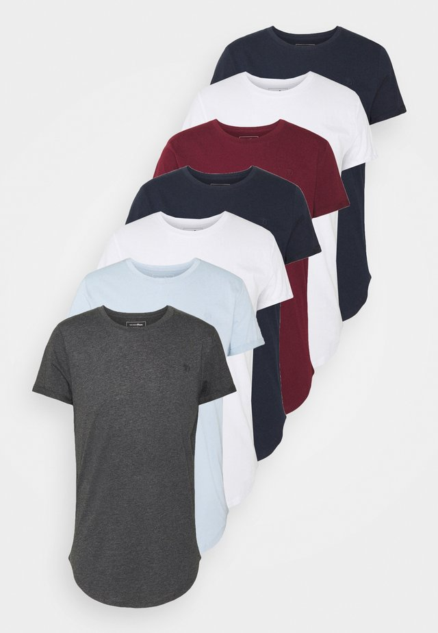 7 PACK  - T-shirts - white