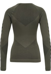 Hummel - FIRST SEAMLESS WOMAN - Long sleeved top - grape leaf - 6