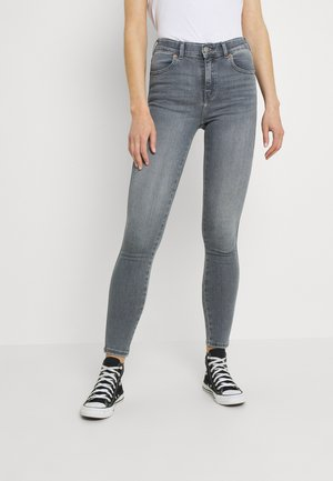 LEXY - Jeans Skinny Fit - washed light grey