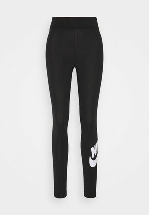 FUTURA - Leggings - black/white