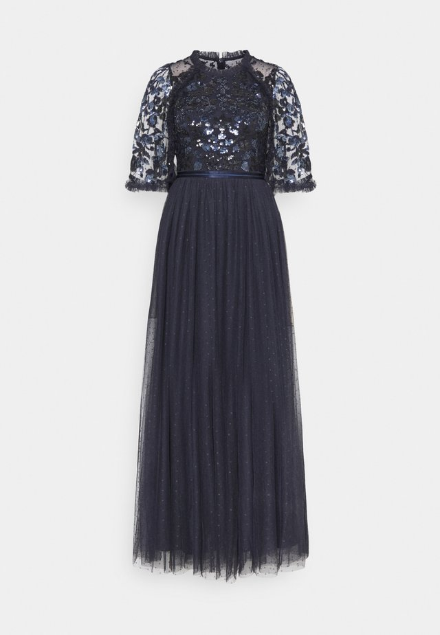 RIBBON BODICE DRESS - Suknia balowa - sapphire sky