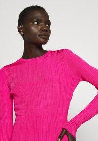 HUGO - SWILLERY - Jumper - bright pink - 5