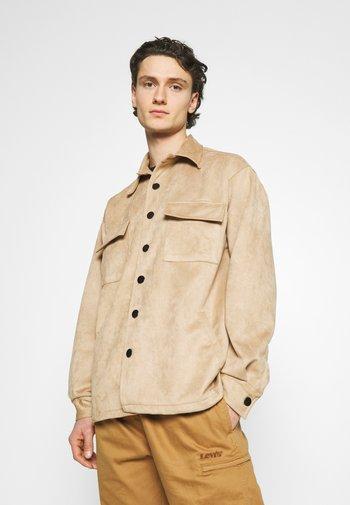 JACKET UNISEX - Summer jacket - almond