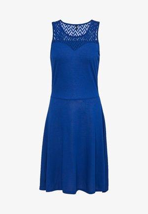 ONLNEW NICOLE LIFE DRESS - Jerseykjole - mazarine blue