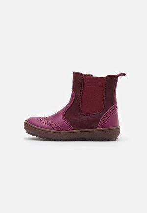 MERI - Kotníkové boty - fuxia