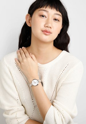 NINA - Watch - silver/rose gold-coloured