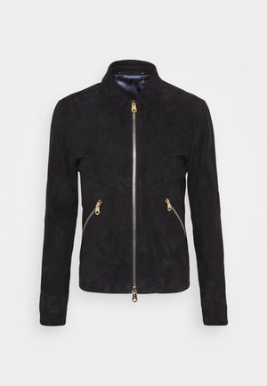 GENTS JACKET - Læderjakker - dark blue