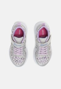 Geox - ASSISTER GIRL - Trainers - silver/lilac - 3
