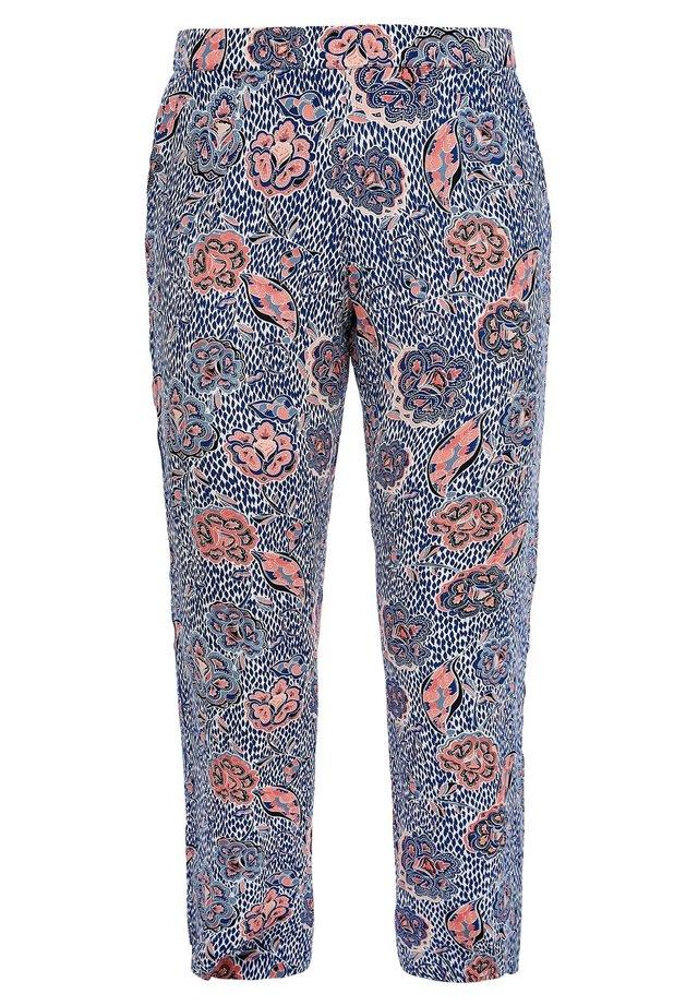 Trousers - blue aop