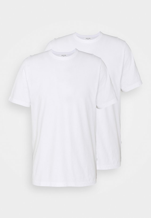 ALLAN 2 PACK - T-shirt basic - bright white