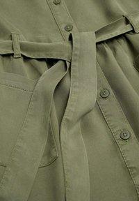Mango - IVA - Robe chemise - kaki - 2
