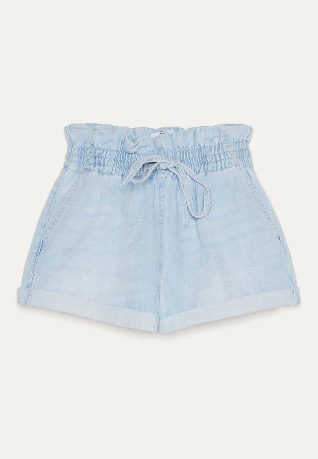 MIT KORDEL  - Short en jean - blue denim