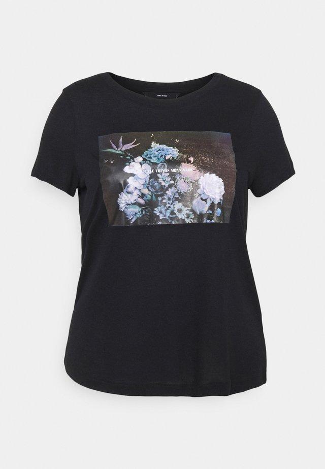 VMNELLFRANCIS - T-shirts med print - black