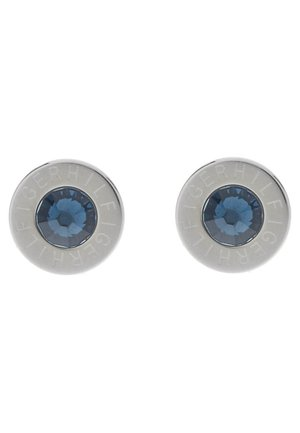 Earrings - zirkonia blau