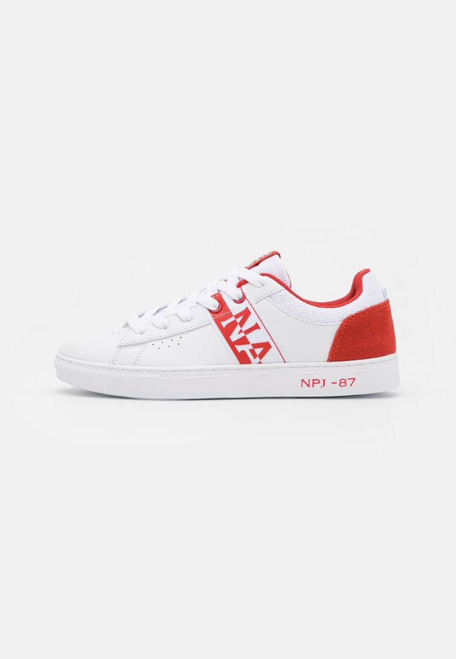 WILLOW - Sneakers basse - white/red/multicolor