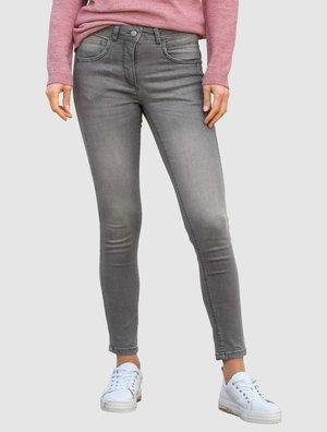 Slim fit jeans - lichtgrau