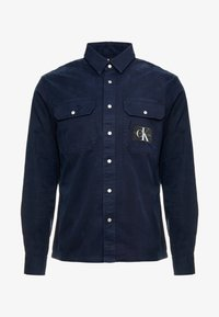 Calvin Klein Jeans - ARCHIVE ICONIC UTILITY SHIRT - Shirt - blue - 4