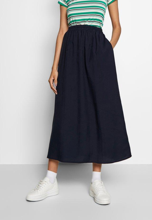 Falda larga - blue