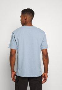 Topman - 3 PACK - Basic T-shirt - black/grey/blue - 2