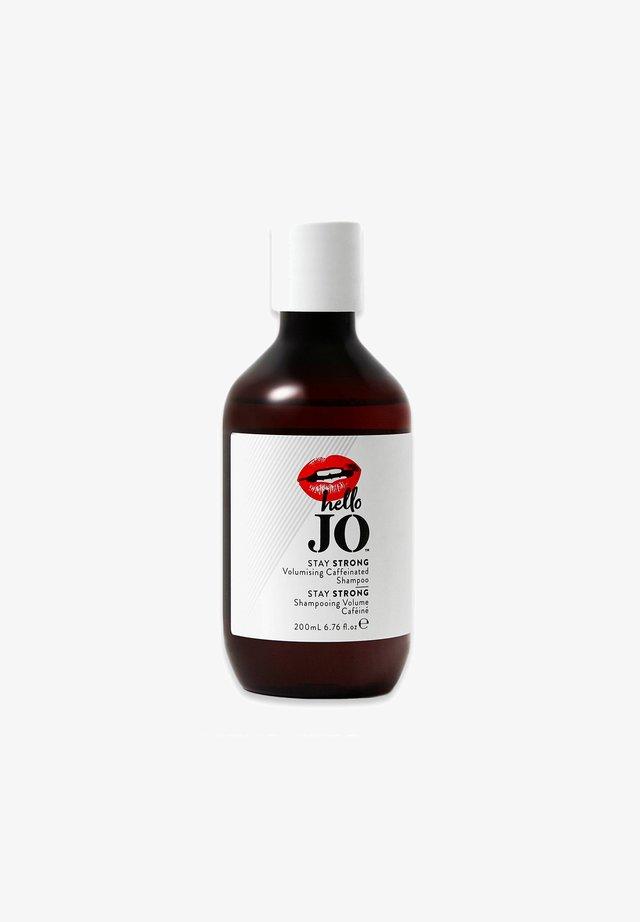 HELLO JO BEAUTY HELLO JO STAY STRONG VOLUMISING CAFFEINATED SHAM - Shampoo - -