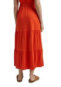 Esprit - A-line skirt - orange red - 2